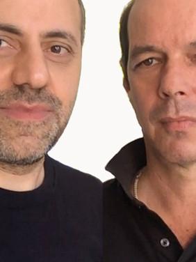 Khalil Charif e Marcos Bonisson