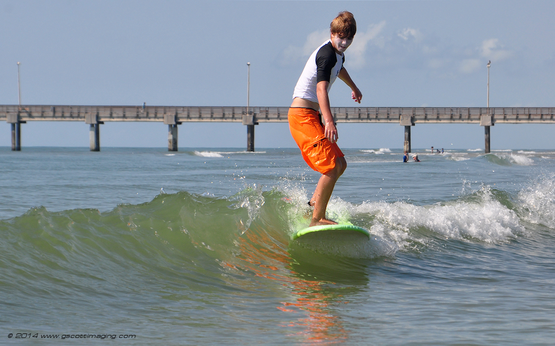 Texas Surf Camps Corpus Surfer