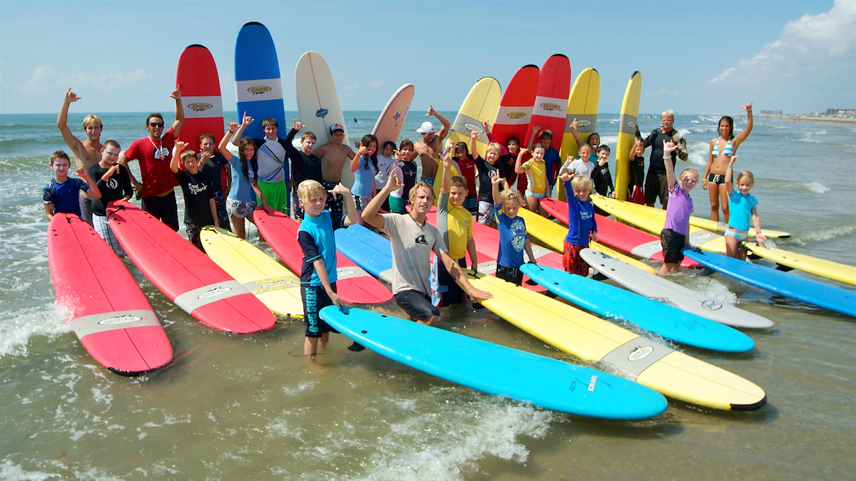 Texas Surf Camps Port Aransas Group