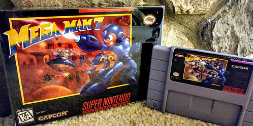 Mega Man 7 *Custom* NEW!