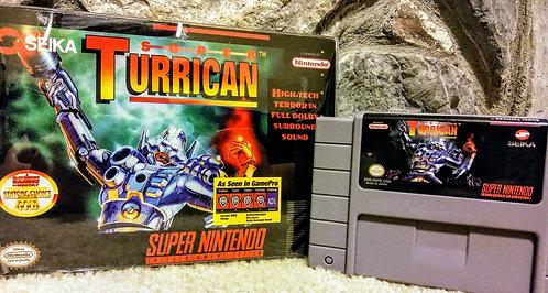 Super Turrican Super Nintendo Custom In Box!