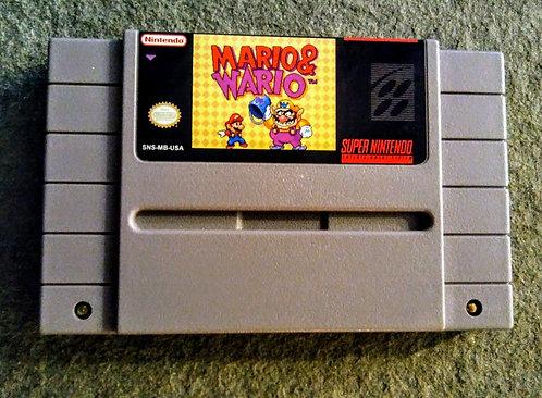 Mario & Wario *Custom* SNES *Translated*