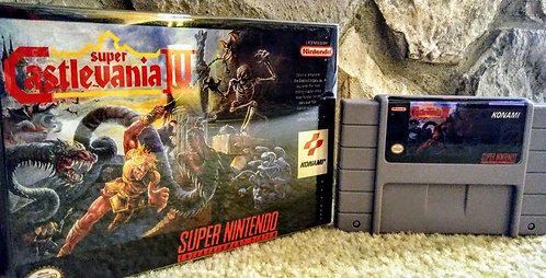 Super Castlevania IV *Custom* NEW!