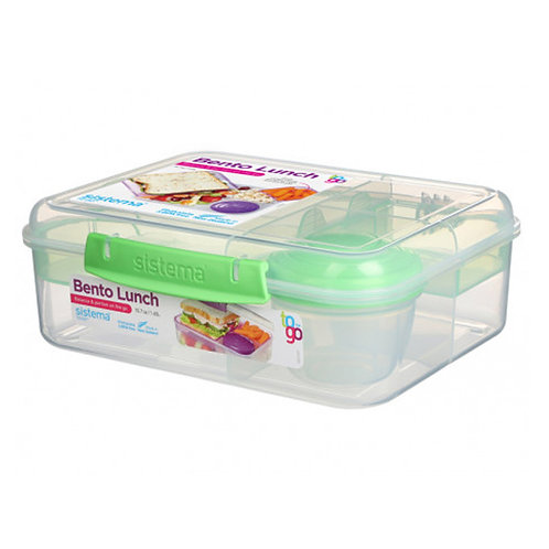 Sistema Bento Lunch 1.65L (green)