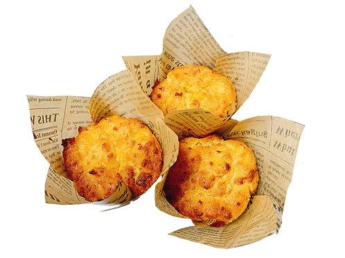 Keto Garlic Cheese Muffins (4pcs)