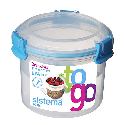 Breakfast Box 530ml (blue)