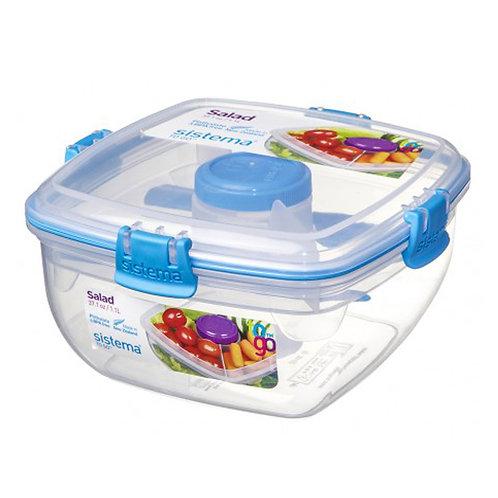 Salad Box 1.1L (blue)