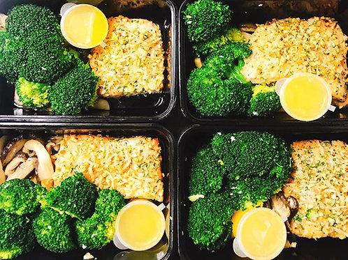 Keto 1Week Meal Plan (10個餐盒 + 5個甜品)