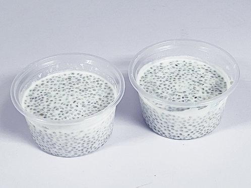 奇亞籽椰汁布丁 (2pcs)