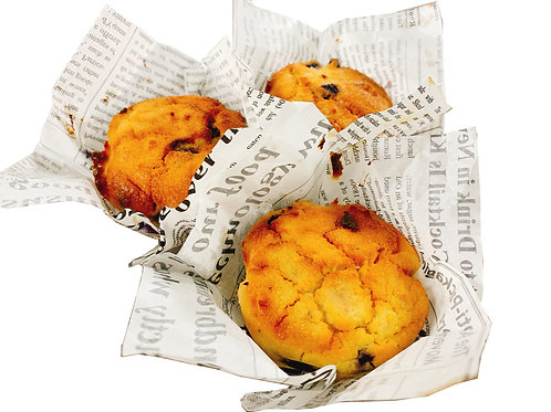 生酮藍莓馬芬蛋糕 Keto blueberry muffin (4pcs)
