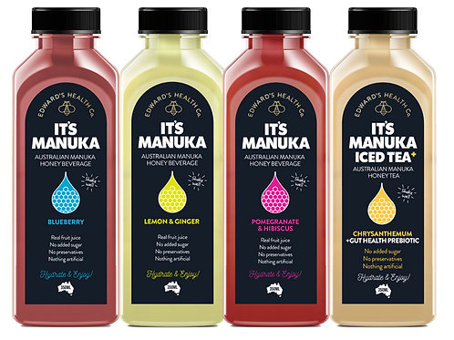 Its Manuka Honey Drink (1 set - 4 tastes)
