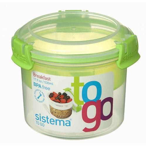 Breakfast Box 530ml (green)