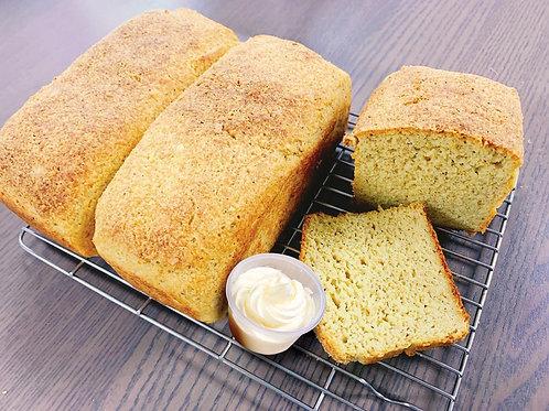 生酮乳酪偽(麥)包 (510g - 1 loaf) with Keto Butter