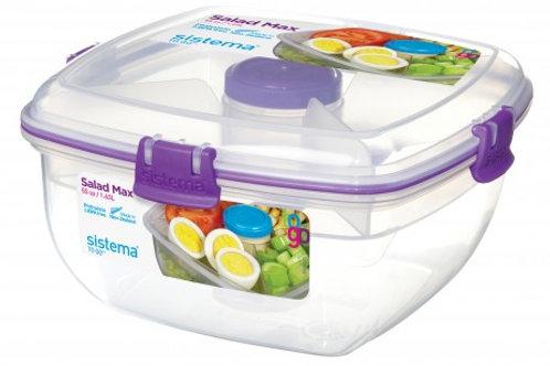 Sistema 1.63L Salad Max Box (purple)