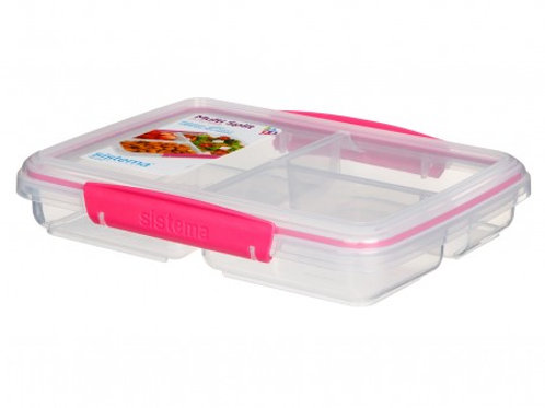 Sistema Multi Split Meal Box (Pink)