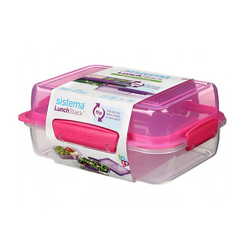 Sistema Lunch Stack 1.8L - rectangle (pink)