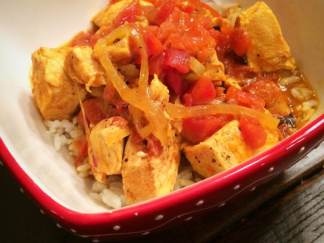 Coconut Curry Chicken (Instant Pot)