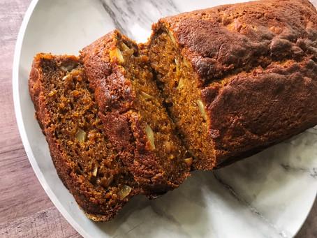 Gluten Free Pumpkin Apple Bread