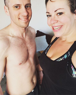 Week 1 done!!! 8 more to go! Loved that I got to workout with my real #hardcorps man today! Changing