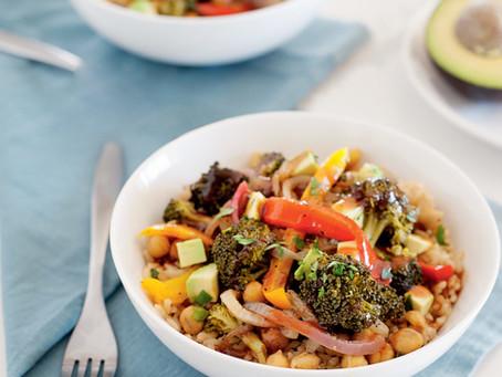 BBQ Vegan Veggie Bowl