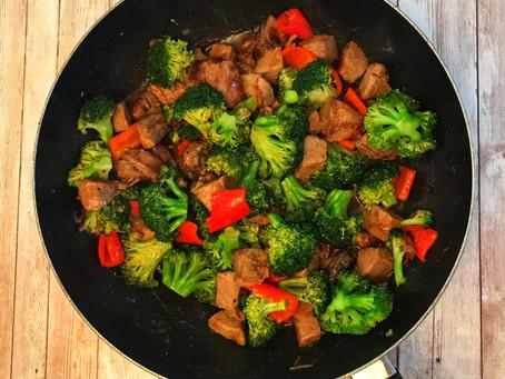 Beef Tips & Broccoli