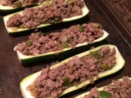 Taco Tuesday Zucchini Boats