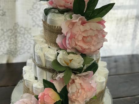 Fancy Pantsy Diaper Cakes