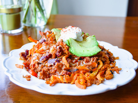 Chili Cheese Fries the Healthy Way