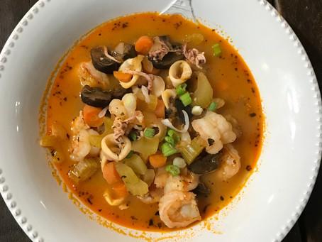 Paleo Seafood Soup