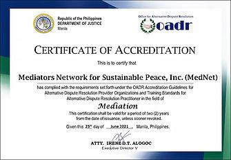 OADR Accrediation.JPG