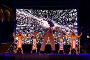 Show Prehispánico 4 Elementos I Cabo Entertainment Company