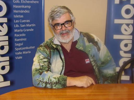 """""""Las casas de madera mejoran la calidad de vida de la gente"""", indicó Martín Sánchez Acosta"""