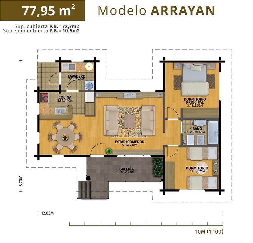 Modelo Arrayán