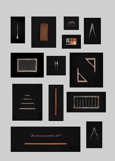 Políptico de objetos memorables