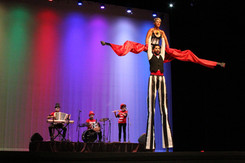 Stilt Show I Cabo Entertainment Company