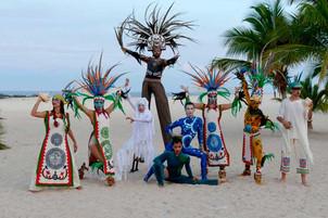 Mexican Prehispanic show 4 Elements I Cabo Entertainment Company