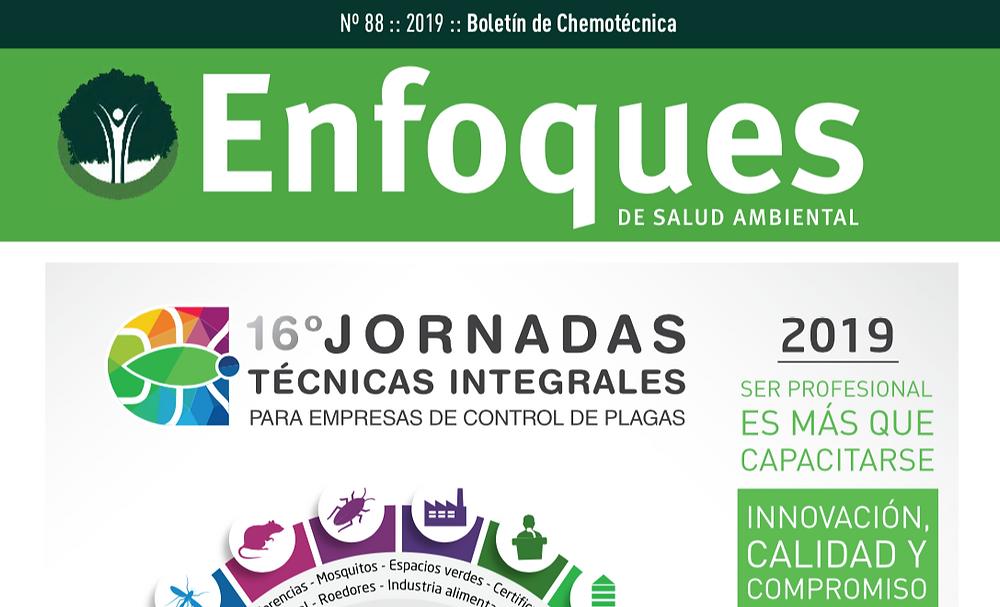 Enfoques de Salud Ambiental Nº88 Especial Jornadas 2019