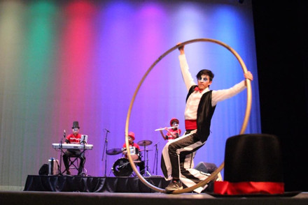 Cyr Wheel I Cabo Entertainment Company