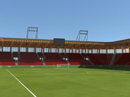 Los estadios de madera podrían ser la próxima tendencia en la arquitectura deportiva