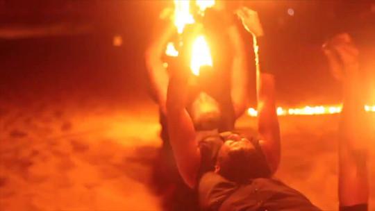 Fire show I Cabo Entertainment Company