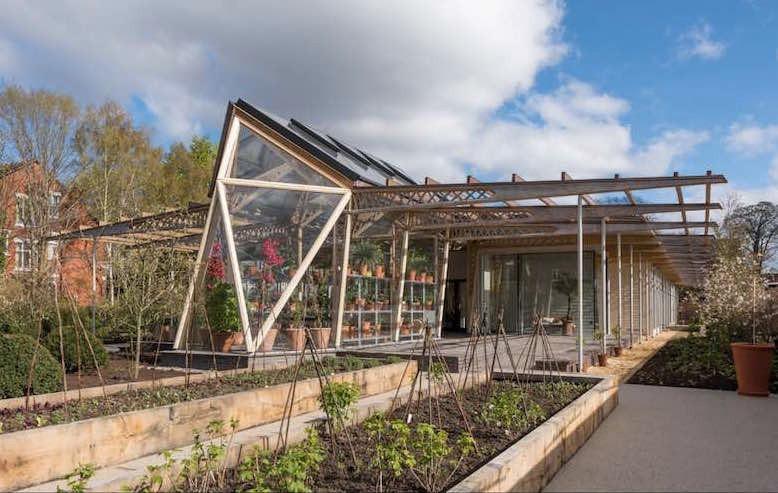 Centro del Cáncer de Maggie de Manchester Patagonia Log Homes