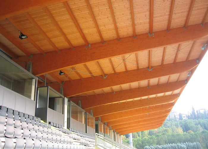 Estadios de madera - Patagonia Log Homes