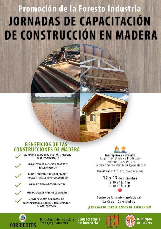 Jornadas de capacitación en construcción en Madera  I  Patagonia Log Homes