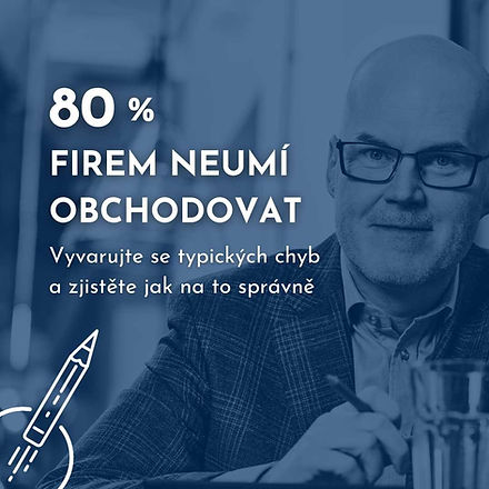 80 procent neumí obchodovat