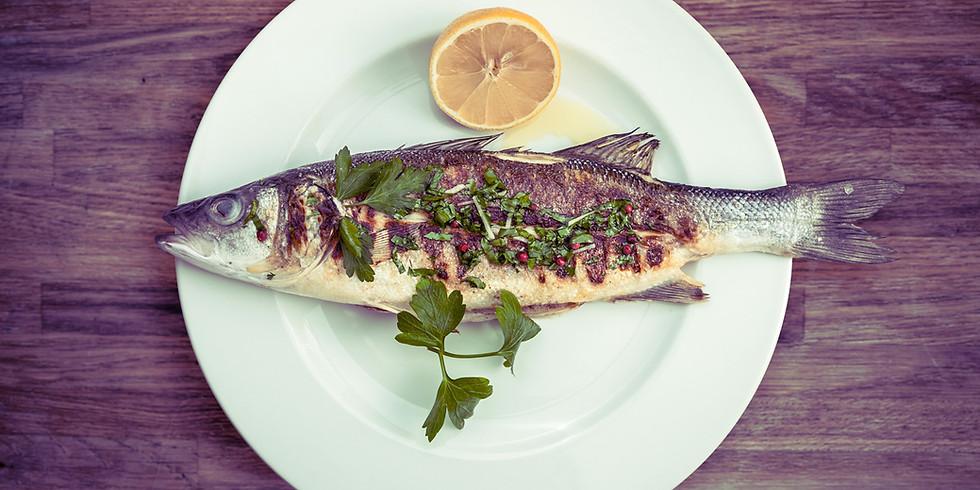 Karfreitag-Fisch-Menü