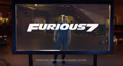 Furious 7/ TruTV March Madness promo