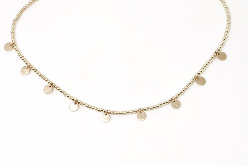 Cassidy Disc Necklace