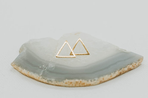 Bella Triangle Studs
