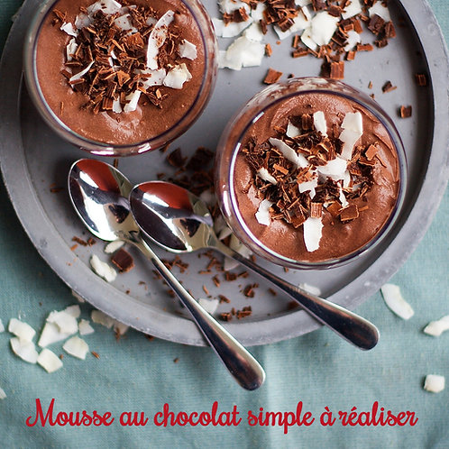 Mousse au chocolat simple à réaliser