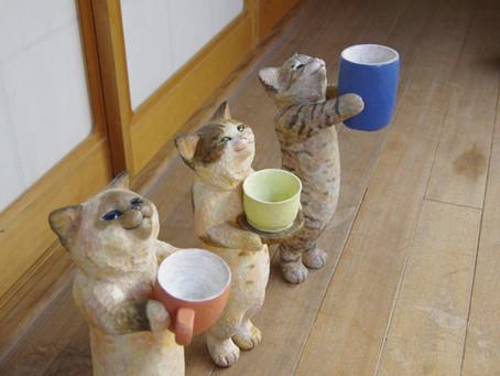 花房さくら個展〜そろそろお茶にしませんか?〜